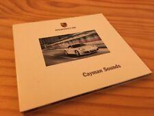 Porsche Cayman sonidos CD música edición Porsche 2008