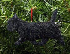 Cairn Terrier Ornament Black/Brindle