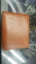 Coach Men's Tan Leather Wallet