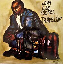 John Lee Hooker-Travelin' LP Vee Jay Records USA reissue – 1023