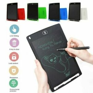 """8.5"""" Electronic Digital LCD Writing Tablet Drawing Board Graphics Kids Gift Fun"""