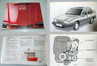 Volvo 850 Modelljahr 1993 Betriebsanleitung Bedienungsanleitung Wartung
