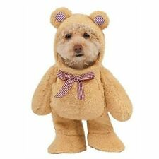 Official Rubie's Walking Teddy Bear Pet Costume Size Large