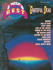 New Best Of GRATEFUL DEAD Piano Vocal Guitar Music Book PVG Songbook Shop Soiled