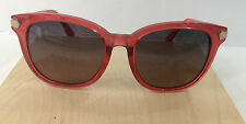 FENDI FF 0021/F/S COL 7UOPR CRYSTAL PINK SUNGLASSES FRAME MINOR SCRATCH LENS