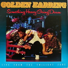"""Golden Earring Something Heavy Going Down Live From The Twilight Zone 12"""" LP"""