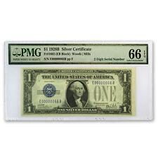 1928-B $1.00 Silver Certificate Gem CU-66 EPQ PMG (Low Serial #)
