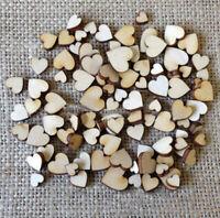 50 Pcs DIY 4 Sizes Wooden Love Heart Buttons Scrapbooking Craft Ho Creative N4P5
