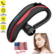 Wireless Bluetooth Headset with Mic Earbud for Samsung S10 S9 J8 J7 Prime Lg G7
