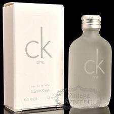 Calvin Klein Perfume Ck one Eau De Toilette Mini Parfum Men Fragrance 15ml 0.5oz