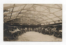 PHOTO CARTE Auto Automobile Voiture Garage Citroën Peugeot Renault ? 1920