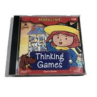 Madeline Thinking Games Windows 95/98/3.1 and Macintosh Kids Ages 5 & UP Game