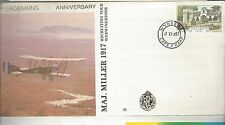 1987 Republic of South Africa FDC Herdenking 70th Anniversary of Maj Miller