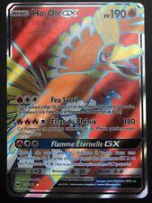 Carte Pokemon HO-OH 131/147 GX Full Art Soleil et Lune 3 SL3 FR NEUF
