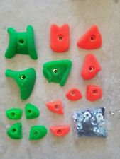 Used rock climbing holds