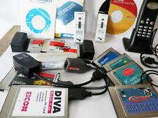 PCMCIA /Netzwerkkarten Fax usw. 12 Stück  Notebook Cards 12 Items PCMCIA etc.