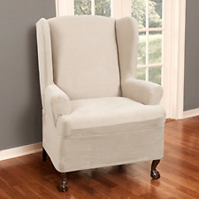 MAYTEX Reeves Stretch 1 - Piece T   Cushion Wingback Chair with Arms Furniture