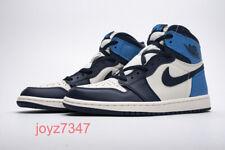 """Air Jordan 1 Retro High OG """"Obsidian University Blue""""555088-140 NIKE Basketball"""