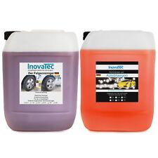 10L.Autoshampoo Konzentrat mit Abperleffekt + 10L.Felgenreiniger Autopflege a.w.