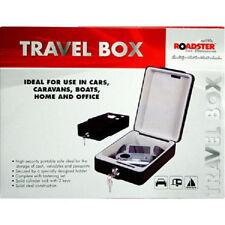 PORTABLE TRAVEL BOX SAFE BOX STAGNO per Caravan Auto Camion Barca Wall Mounted Cash