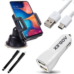 5in1 Car Set For Google Pixel 4a Accessories Charging Cable Holder Touchpen HS2