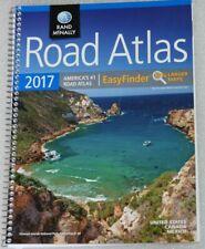 Road Atlas Complete US Canada Mexico 2017 Rand McNally EasyFinder