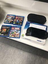 Sony PS VITA Consola con 4 Juegos