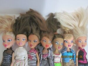 Bratz Dolls 2001 Lot of 7