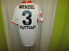 """VfB Stuttgart Puma Heim Trikot 2003/04 """"debitel"""" + Nr.3 Wenzel Gr.XL Neu"""