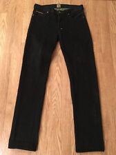 Men's PRPS Black Button Fly Ramblers Slim Jeans Sz 33 Inseam 35 Euc