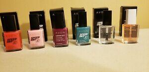 Avon SpeedDry Nail Polish/Enamel 30 Seconds NIB *sold separately or together*