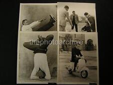Anthony Quinn Candid Set VINTAGE 4 PHOTO LOT 176N