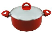 CONCORD Eco Friendly Ceramic 5 QT Nonstick Dutch Oven Casserole Pot Cookware