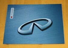 Infiniti Q45 I30 G20 QX4 2001 USA Prospekt Brochure Catalogue Depliant Prospetto
