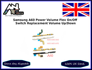Samsung A60 Power Flex on off Volume Button Flex Cable Ribbon Replacement