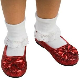 Dorothy Ruby Red Slippers - Wizard of Oz - Costume Accessories - Child - 4 Sizes