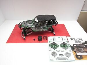 Axial Wraith Rock Racer 2.2 1/10 4WD Roller Slider/ Body/ Upgraded. Traxxas Losi
