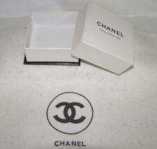 "CHANEL VINT. RARE EMPTY ""CHANEL, 31,RUE CAMBON-PARIS"" (PARIS BOUTIQUE) SMALL BOX"