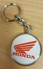 Honda Logo Metallic Keyring, Brand New