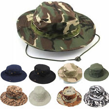 Summer Bucket Boonie Hat Unisex Giggle Cotton Cap Fishing Hunting Outdoor Beach