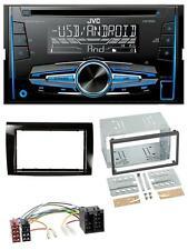 JVC MP3 USB CD 2DIN AUX Autoradio für Fiat Bravo (ab 2007)