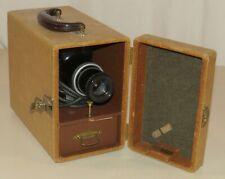 Vintage Barnett & Jaffe Slide Projector with Case, Carrier, Kodaslide Model 1A