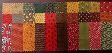 "Assorted Jo Morton Fabric 30 Piece Charm Pack 5"" Fabric Squares Premium Cotton"