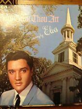 Elvis Presley LP  How Great Thou Art    (LP06)