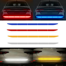 Car Warn Strip Tape Bumper Safety Stickers Decals Paster Reflective Accessories (Fits: Daewoo)