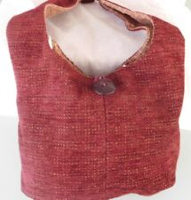HANDMADE BY HOLLY LADIES CRANBERRY PURSE  FREE SHIPPING