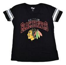 G-III By Carl Banks Womens NHL Chicago Blackhawks Hockey Shirt New L, XL