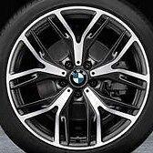 "BMW OEM F25 X3 F26 X4 542 Y Spoke 20"" Wheel Set Of 4 Brand New"