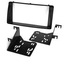 Radioblende für TOYOTA Corolla E12 Autoradio Doppel DIN Blende Rahmen schwarz