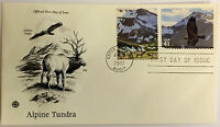 100 USPS PCS Alpine Tundra 2007 41c Stamp FDC Cover 4198A First Day Issue NEW
